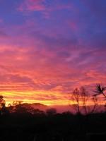 Gods sunset